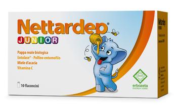 NETTARDEP JUNIOR 10 FLACONCINI DA 15 ML - Farmaseller