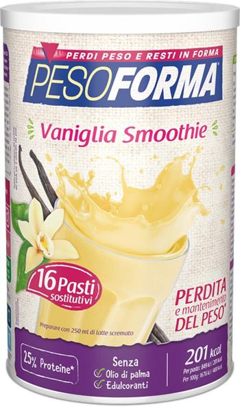 PESOFORMA VANIGLIA SMOOTHIE 436 G - Farmaseller