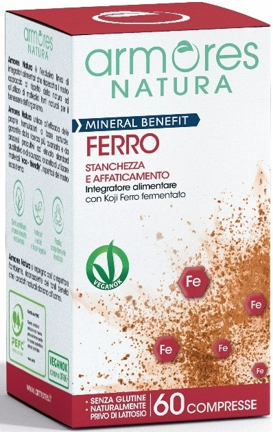 ARMORES MINERAL BENEFIT FERRO 60 COMPRESSE - Farmaseller