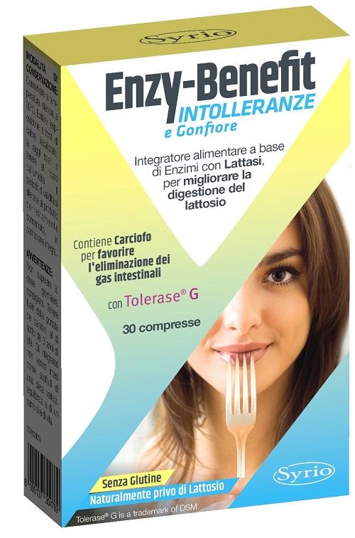 ENZY BENEFIT INTOLLERANZE 30 COMPRESSE - Farmaseller