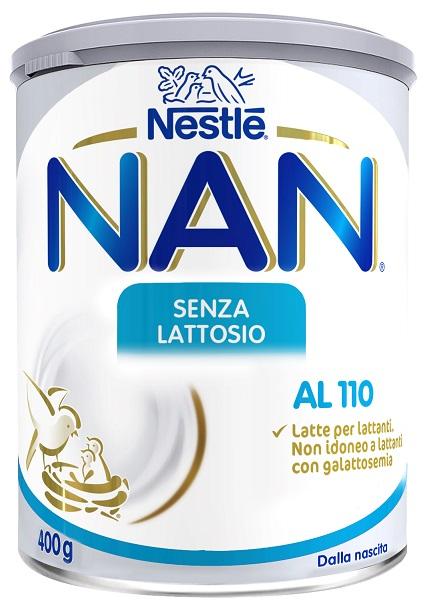 NESTLE' NAN AL 110 SENZA LATTOSIO 400 G - Farmaseller