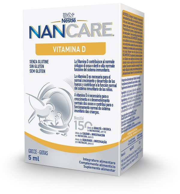 NESTLE' NANCARE VITAMINA D GOCCE 5 ML - Farmafamily.it