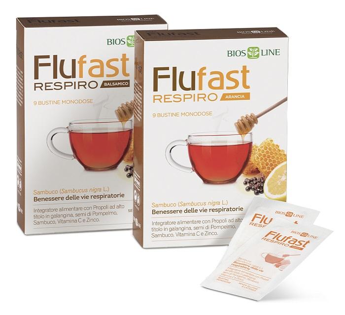 APIX PROPOLI FLUFAST RESPIRO ARANCIA 9 BUSTE - Farmaseller