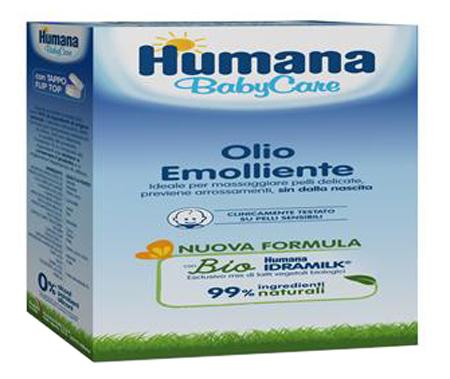HUMANA BABY CARE OLIO EMOLLIENTE 250 ML - Farmastop