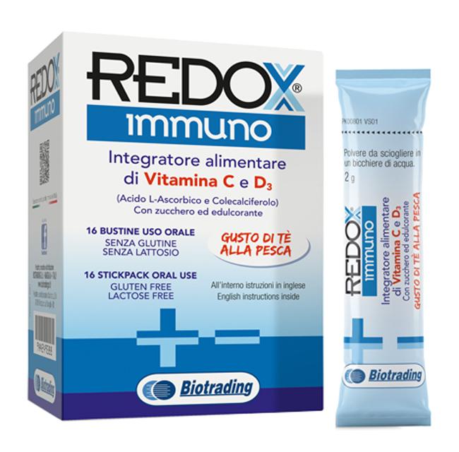 REDOX IMMUNO 16 STICK - Zfarmacia