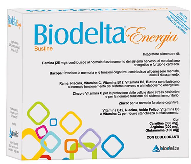 BIODELTA ENERGIA 20 BUSTINE - Farmaseller