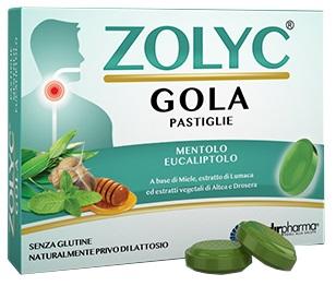 ZOLYC GOLA MENTOLO/EUCALIPTO 36 PASTIGLIE - Farmaseller