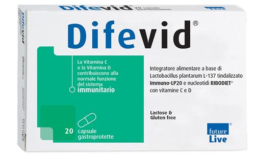 DIFEVID 20 CAPSULE GASTROPROTETTE - Farmaseller