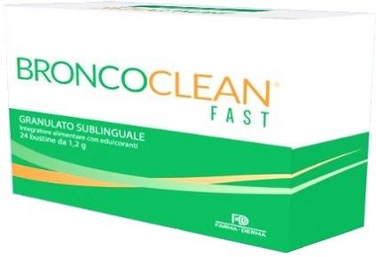 BRONCOCLEAN FAST GRANULATO SUBLINGUALE 24 BUSTINE - Farmaseller