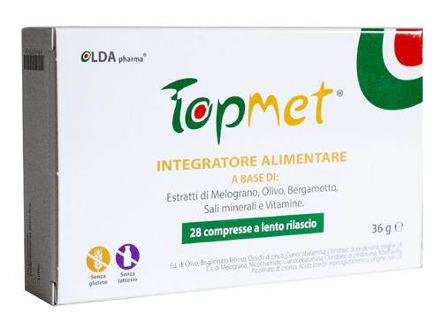 TOPMET 28 COMPRESSE A LENTO RILASCIO - Farmaseller