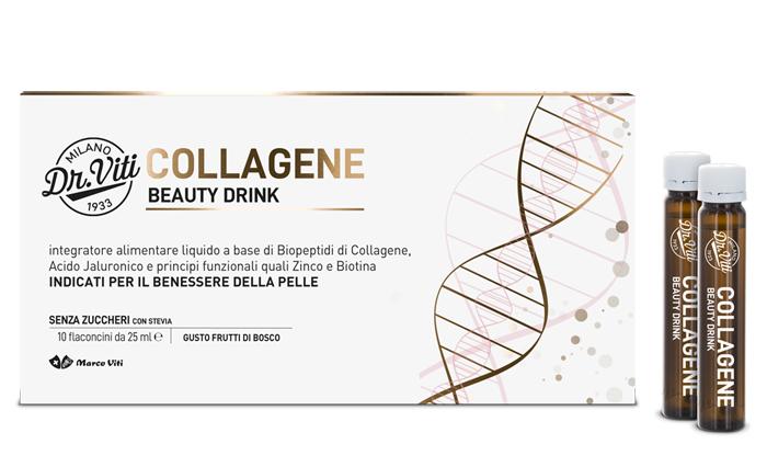 DR VITI COLLAGENE BEAUTY DRINK 250 ML - Farmaseller
