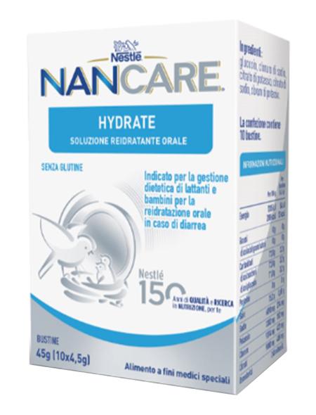 NESTLE' NANCARE HYDRATE 10 BUSTINE - Farmaseller