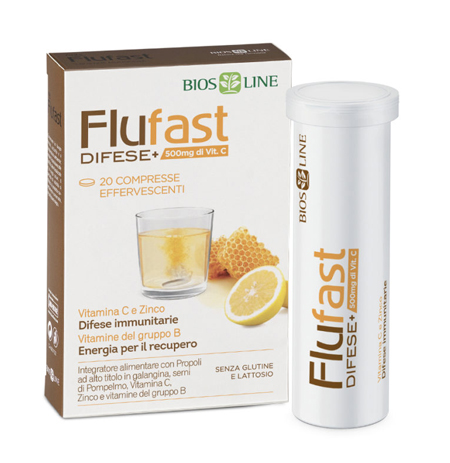 APIX PROPOLI FLUFAST DIFESE+ 20 COMPRESSE EFFERVESCENTI - Farmaseller