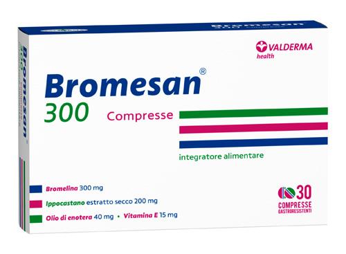 BROMESAN 300 30 COMPRESSE GASTRORESISTENTI - Farmaseller