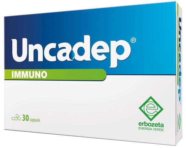 UNCADEP IMMUNO 30 CAPSULE - Farmaseller