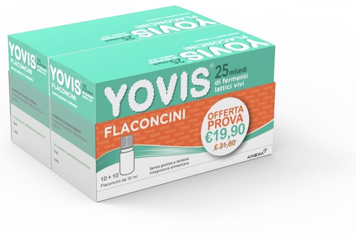 YOVIS 20 FLACONCINI DA 10 ML BIPACCO - Farmacia Centrale Dr. Monteleone Adriano