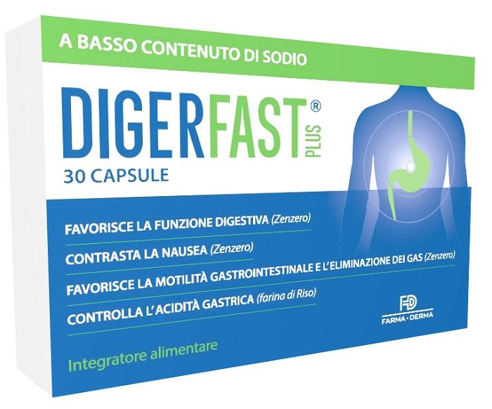 DIGERFAST PLUS 30 CAPSULE - Farmaseller