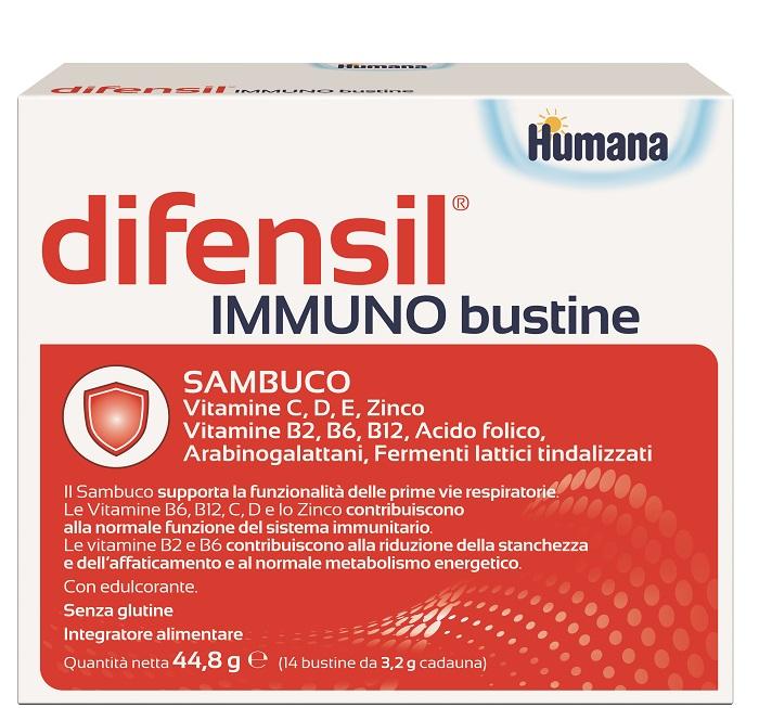 DIFENSIL IMMUNO BUSTINE 14 BUSTINE - Farmaseller