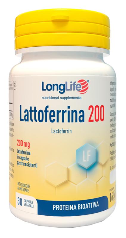 LONGLIFE LATTOFERRINA200 30 CAPSULE GASTRORESISTENTI - Farmaseller