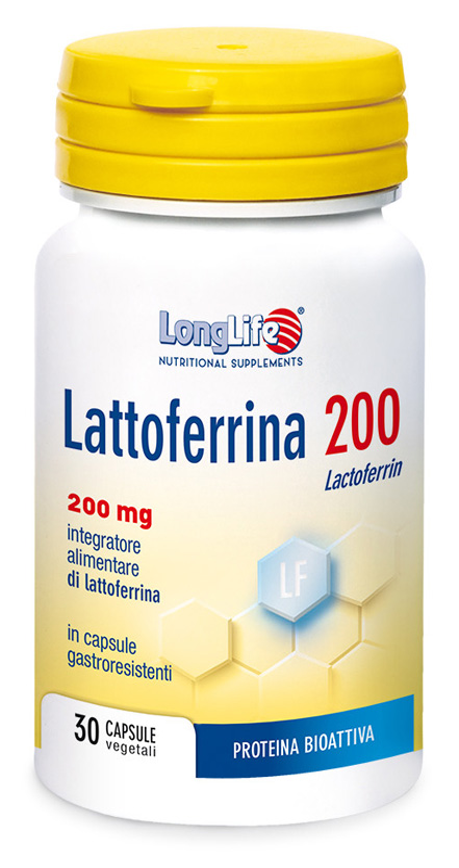 LONGLIFE LATTOFERRINA 200 30 CAPSULE - Zfarmacia