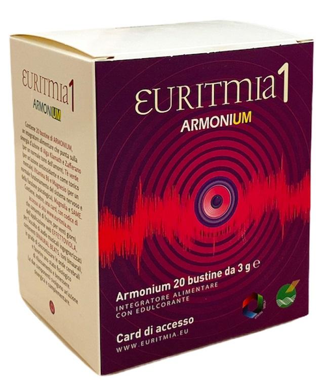 EURITMIA 1 ARMONIUM 20 BUSTINE + CARD ACCESSO SITO ONLINE - Farmaseller