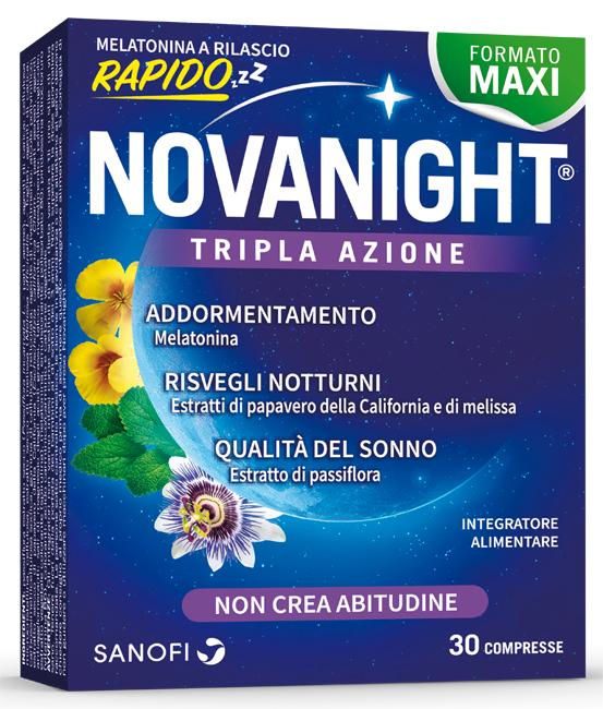 NOVANIGHT 30 COMPRESSE RILASCIO RAPIDO - farmasorriso.com