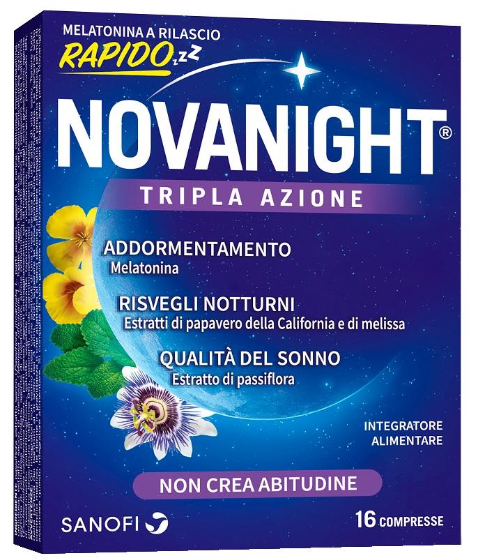 NOVANIGHT 16 COMPRESSE RILASCIO RAPIDO - farmasorriso.com