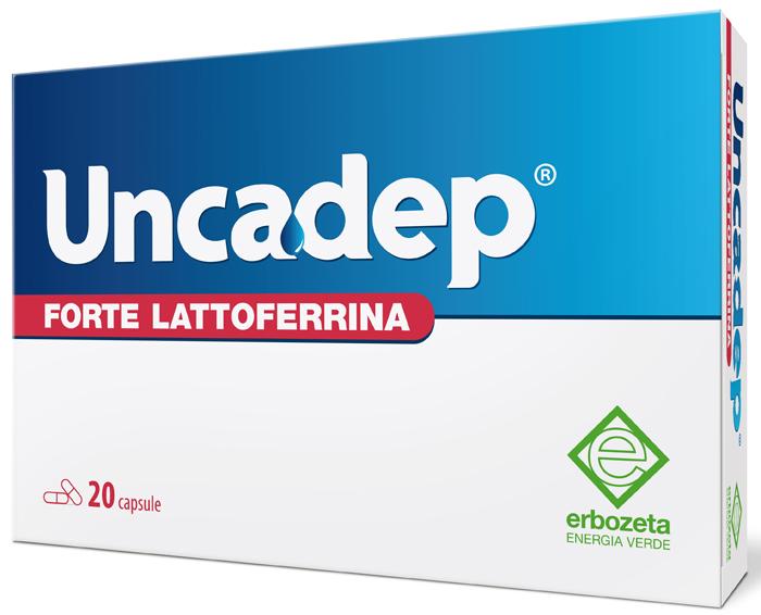 UNCADEP FORTE LATTOFERRINA 20 CAPSULE - Farmaseller