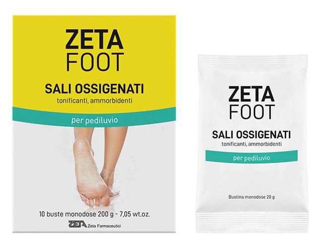 ZETAFOOT SALI OSSIGENATI 10X20 G - Farmaseller