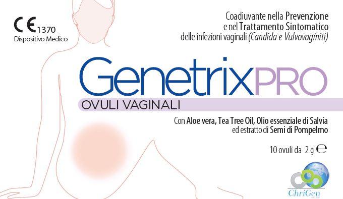 GENETRIX PRO 10 OVULI VAGINALI 2 G - Farmaseller