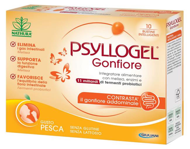 PSYLLOGEL GONFIORE PESCA 10 BUSTINE - FARMAPRIME