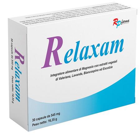 RELAXAM 30 CAPSULE - Farmaseller