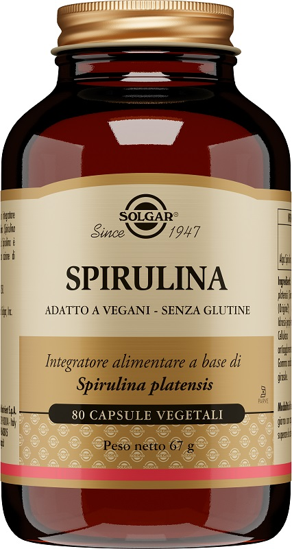 SPIRULINA 80 CAPSULE VEG - farmaciafalquigolfoparadiso.it