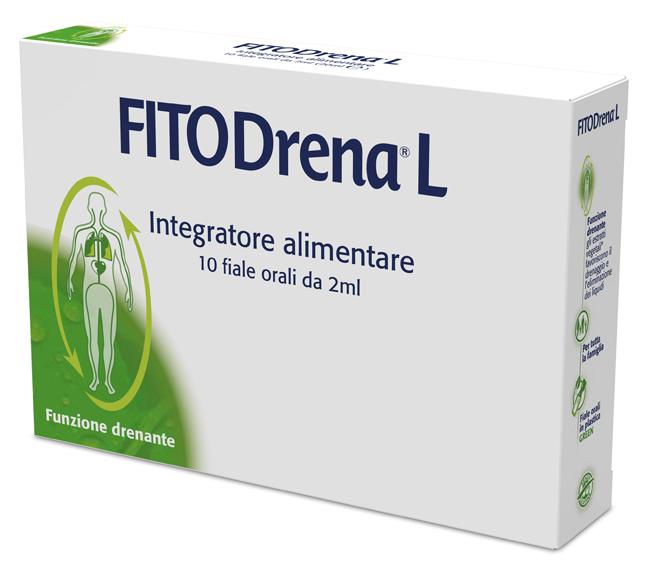 FITODRENA L 10 FIALE 2 ML - Farmalilla