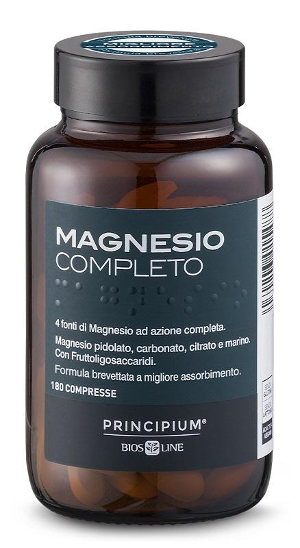 PRINCIPIUM MAGNESIO COMPLETO 180 COMPRESSE - Farmaseller