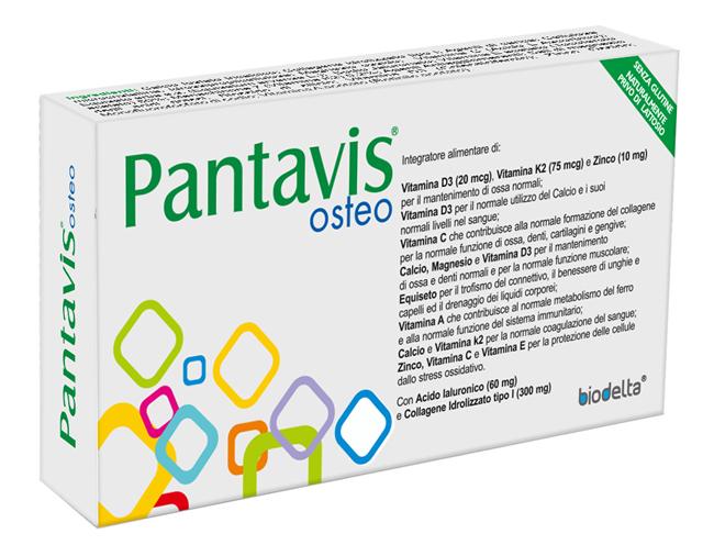 PANTAVIS OSTEO 30 COMPRESSE - Farmaseller