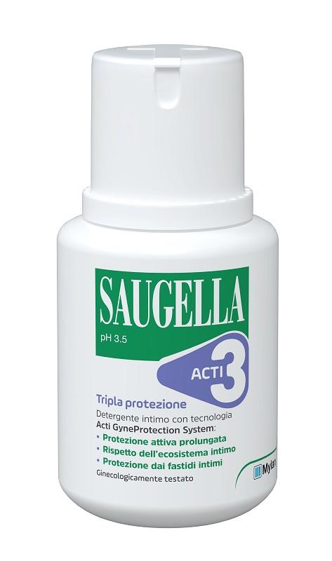 SAUGELLA ACTI3 DETERGENTE INTIMO 100 ML - FARMAPRIME