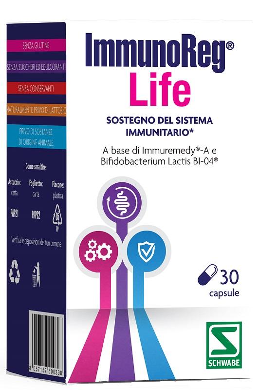 IMMUNOREG LIFE 30 CAPSULE - Farmaseller