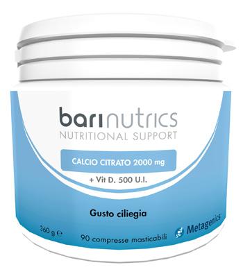 BARINUTRICS CALCIO CITRATO CILIEGIA ITA 90 COMPRESSE - Farmacia33