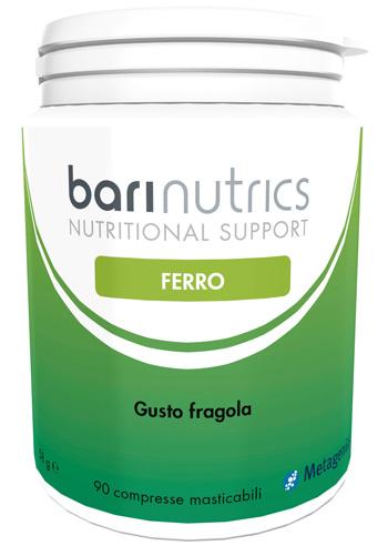 BARINUTRICS FERRO FRAGOLA ITA 90 COMPRESSE - Farmafirst.it