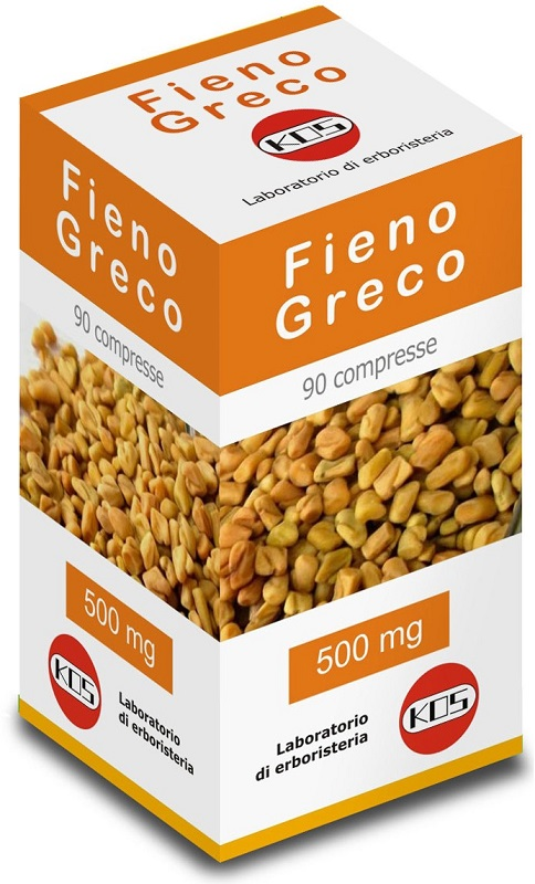 FIENO GRECO 90 COMPRESSE 500 MG - Zfarmacia