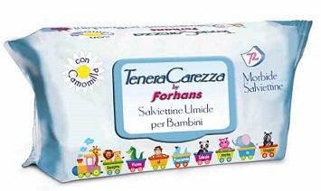TENERA CAREZZA BY FORHANS SALVIETTINE 72 PEZZI - Farmabros.it