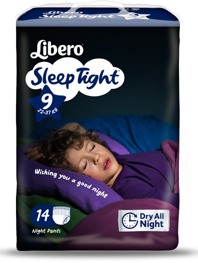 LIBERO SLEEPTIGHT TAGLIA 9 14 PEZZI - Farmapage.it