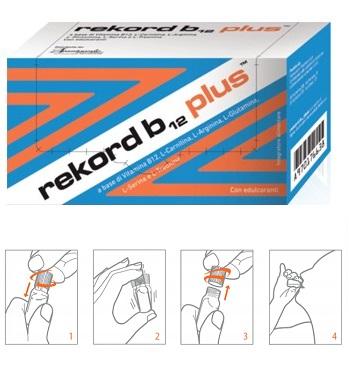 REKORD B12 PLUS 10 FLACONCINI 10 ML - Farmacia 33