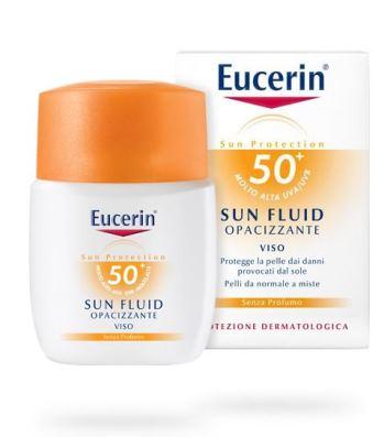 EUCERIN SUN VISO FLUID FP50+ 50 ML - Farmacia Puddu Baire S.r.l.