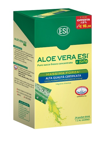 ESI ALOE VERA 24 POCKET DRINK MASSIMA FORZA 24 POCKET 20 ML - Farmapage.it
