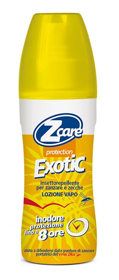 Z CARE PROTECTION EXOTIC VAPO LOZIONE NO GAS 100 ML - La farmacia digitale