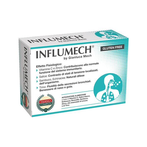 INFLUMECH TISANO COMPLEX 14 COMPRESSE - Farmaseller