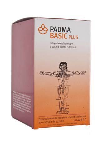 PADMA BASIC PLUS 200 CAPSULE - keintegratore.com