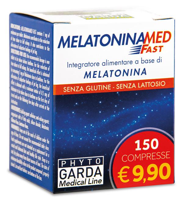 MELATONINAMED FAST 150 COMPRESSE - Spacefarma.it